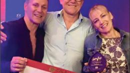 Mitch Edwards, Marc Edwards and JoAnn Edwards