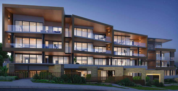Artists impression of the Elysium development in Terrigal