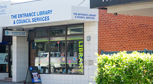 The Entrance Library is one of several council libraries that will have reduced services while the upgrade is happening.