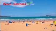 Beach conditions a Ocean Beach, Umina & Pearl Beach giving the tick