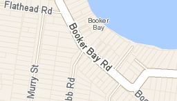 Booker Bay road map