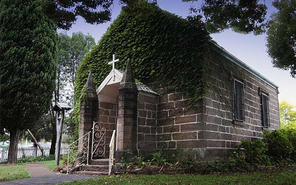 Kincumber Church is one of the oldest in Australia. Image: Anglican Parish of Kincumber