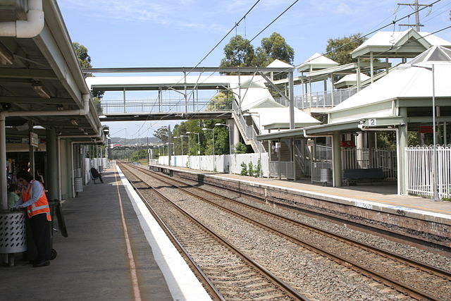 Tuggerah Railway Station - Image: Wikicommons - see attribute in article.