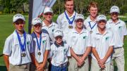 Local young golfers Image: ThinkSport.com.au