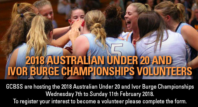 Under 20s basketball championships will be held in Gosford