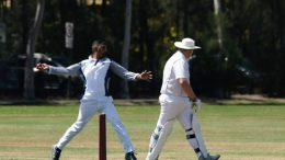 Local Cricket players at West Gosford