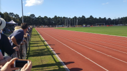 Mingara athletics track - Image: Jeff Stamper