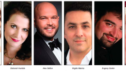 The line up of Opera singers for the 2018 event