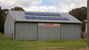 Solar panels on a local RFS - Image Creative Commons