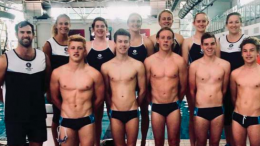 The Under 18 Pool Rescue Development Team features Umina's own Bronte Smith