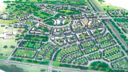 Artist's impression of Warnervale Town Centre