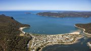 Patonga from the air. Image: Central Coast Council