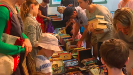 A snapshot of 2016's very successful book sale