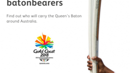 The Gold Coast Commonwealth Games baton will pass through the Central Coast