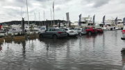 High tides are causing concern at Woy Woy and around the Brisbane Water