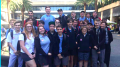 Wyong High School students at IBM Sydney