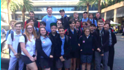 Wyong High School students at IBM Sydney