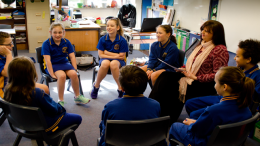 Ethics classes are being held at all levels of Umina Primary. Image: primary Ethics Inc