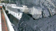 An example of how longwall coal mining works. Image; Creative Commons