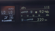 A local woman posted on Facebook from her car a 49C measurement.