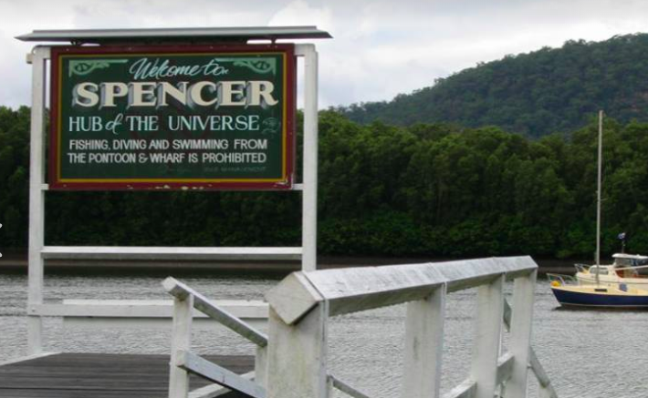 Spencer 'The hub of the universe'