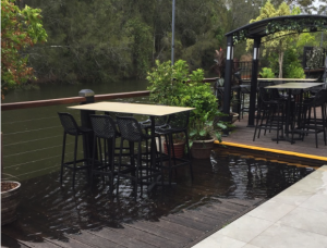 The Sunken Monkey at Erina was living up to its name. Image CNP