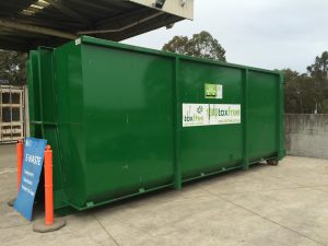 One of the e-waste bins on the Central Coast.