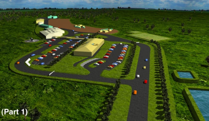 Artist impression of the proposed above ground Wallarah 2 facility. Image: Wallarah 2 website