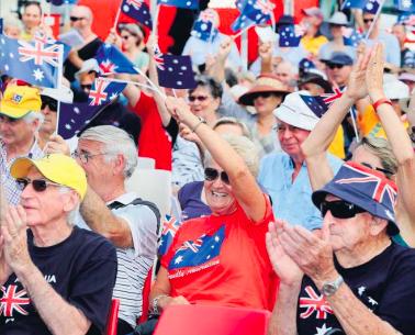 Previous Australia Day celebrations at Woy Woy