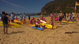 Big turn out for the Nipper Carnival at Killcare. Image: @killcareSLSC
