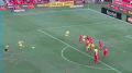 Hoole's free kick put the Mariners in front in Adelaide