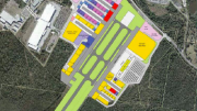 Proposed runway in airport concept plan clearly breaches the Porters Creek Wetlands