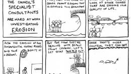 Erosion - A cartoon by Kynan Hughes