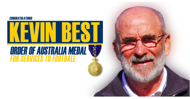 Kevin Best Image: Central Coast Football