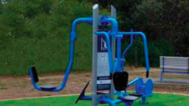 The new fitness tower has been installed at Killcare Surf Club