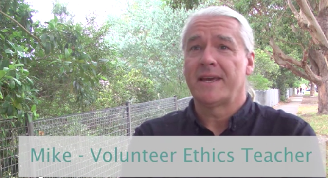 Volunteer Ethics Teacher training is arranged by Primary Ethics
