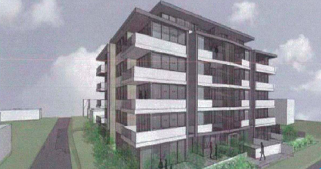 Artists impression of the proposed Toukely development.