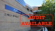 The auditor's report for the first consolidated Central Coast Council is ready