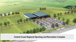 Central Coast Regional Sporting and Recreation Complex at Tuggerah. Image: Regional Development Australia