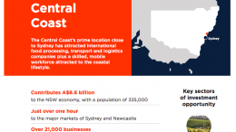 A page from the NSW Investment Prospectus