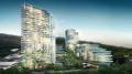 An artist's impression of the Lederer Group's master plan for the Kibbleplex site