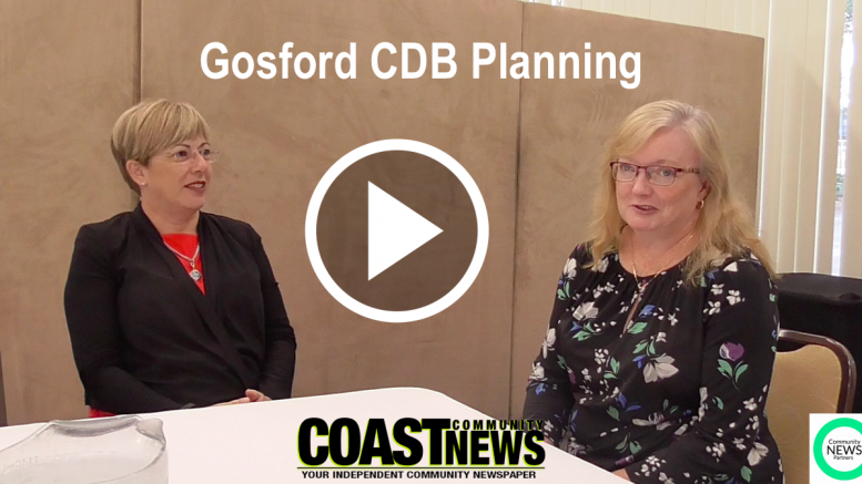 Lee Shearer, Co-ordinator General of the Central Coast discusses Gosford CBD planning initiatives