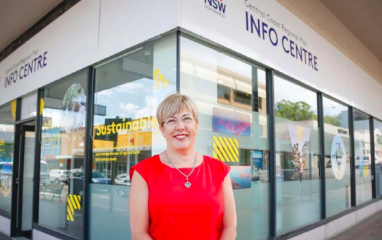 Central Coast's Coordinator General, Ms Lee Shearer, has flexed her muscles and announced the termination of a planning proposal for Gosford's CBD.