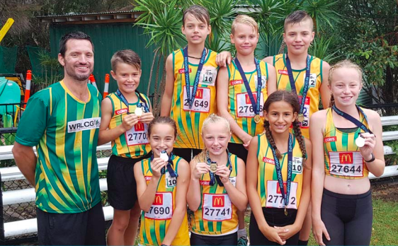 The Wyong Junior Relay Teams are heading to the State championships