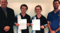 Josh Dowse and Tegan Jenkins were accpeted into the High Performing Students Program