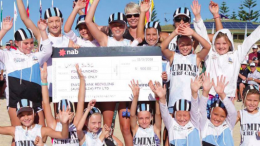 Umina Nippers earned $500 for their club collecting bottles and cans