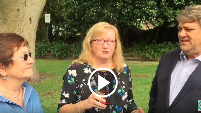 Barbara Gorman and Bruce McLachlan talk to Jackie Pearson