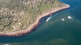The channel at Box Head. Image: Central Coast Council business papers.