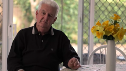 Volunteer carer Frank Image: Cancer Council NSW Video