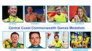 Central Coast athletes took home a record haul of medals from the 2018 Commonwealth Games